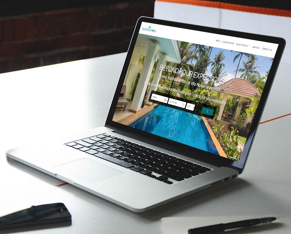 Samran Gardens Website